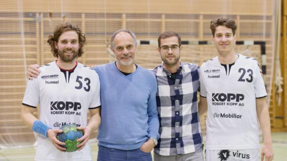 Handballer-Familie strebt den Aufstieg an