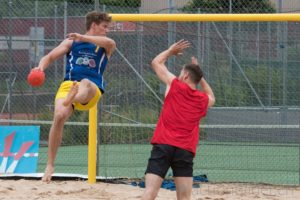 2017.06.04 Beachhandball Schweizermeisterschaft Herren. Mooshüsli Emmen.
