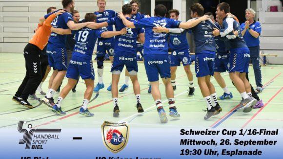 HS Biel – HC Kriens-Luzern bei TeleBielingue