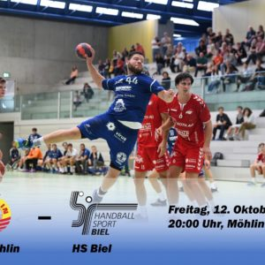 Matchvorschau: TV Möhlin – HS Biel