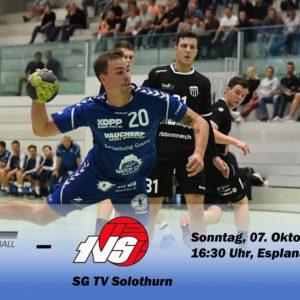 Matchvorschau: HS Biel – SG TV Solothurn