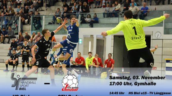 Matchvorschau: HS Biel – STV Baden