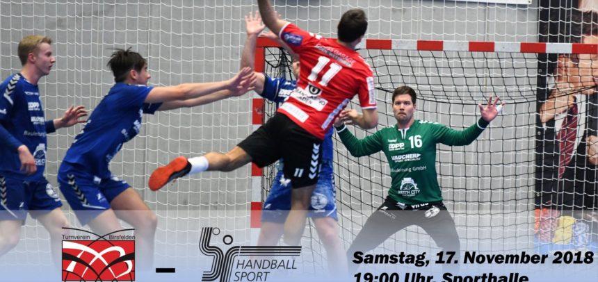Matchvorschau: TV Birsfelden – HS Biel