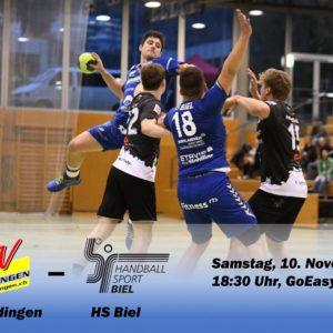 Matchvorschau: TV Endingen – HS Biel