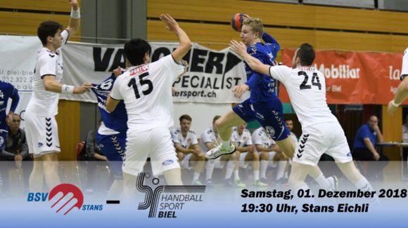 Matchvorschau: BSV Stans – HS Biel