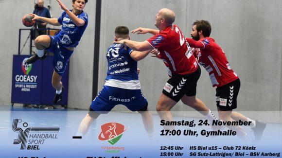 Matchvorschau: HS Biel – TV Steffisburg
