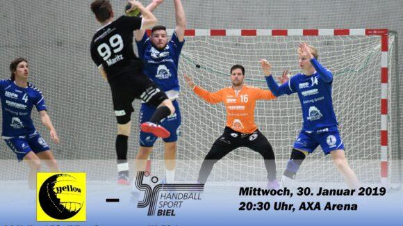Matchvorschau: SG Yellow/ Pfadi Espoirs – HS Biel