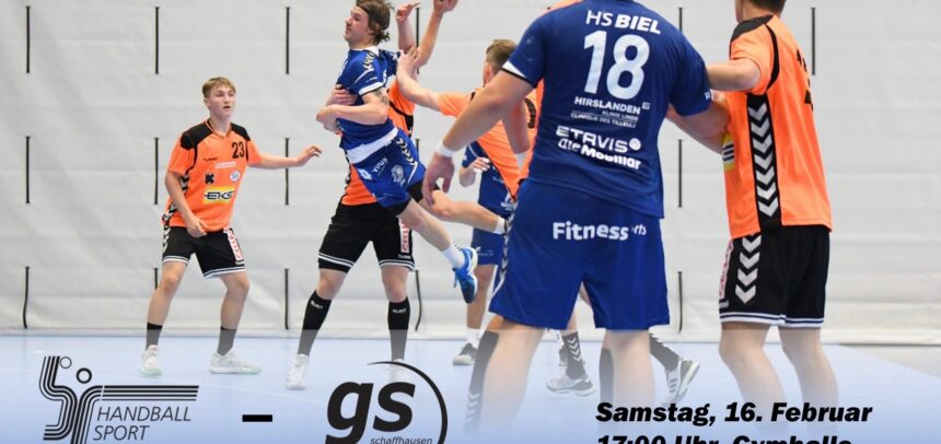Matchvorschau: HS Biel – SG GS/ Kadetten SH