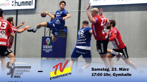 Matchvorschau: HS Biel – TV Endingen