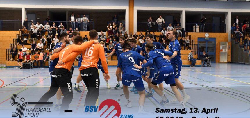 Matchvorschau: HS Biel – BSV Stans