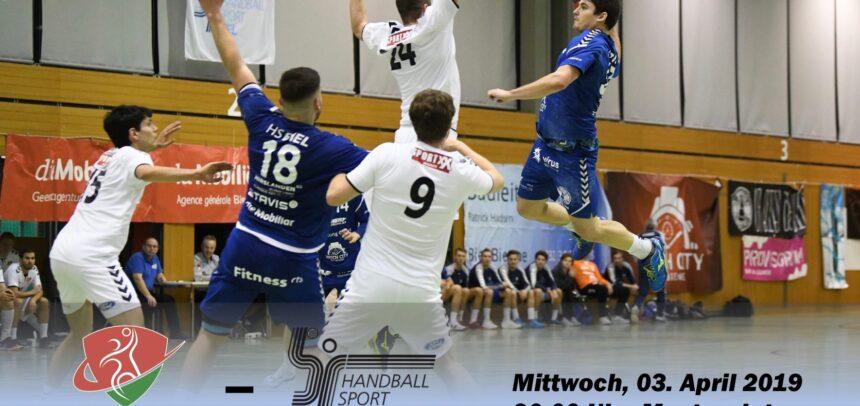 Matchvorschau: TV Steffisburg – HS Biel
