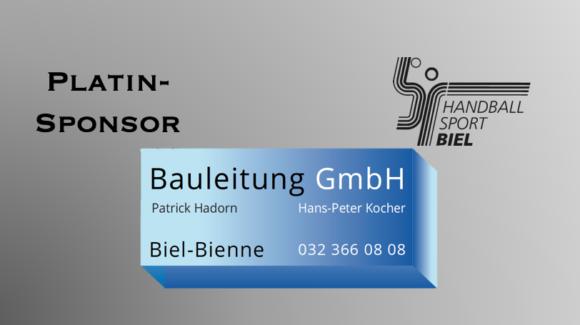 Bauleitung GmbH und Vaucher Sport weiterhin Platin-Sponsor