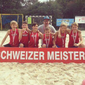 HS Biel ist Schweizer Meister im Beachhandball