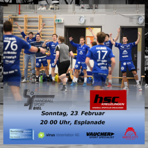 Matchvorschau: HS Biel – HSC Kreuzlingen