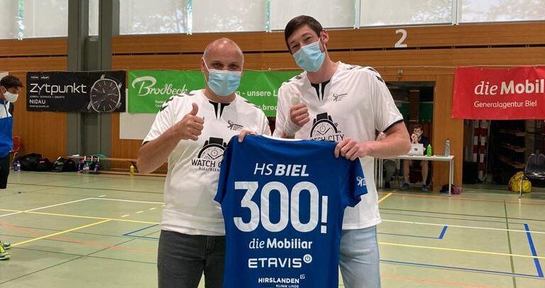 Bieler finden langsam den Tritt / 300 Spiele für Béguelin